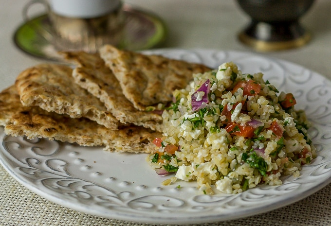 Middle Eastern tabouleh recipe and history | ethnicspoon.com