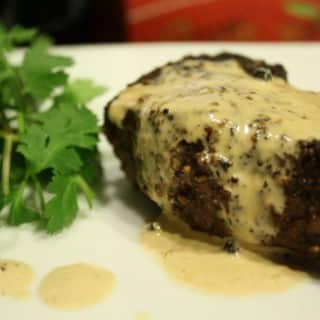 Steak au Poivre Recipe and How to Make a Pan Sauce Tutorial