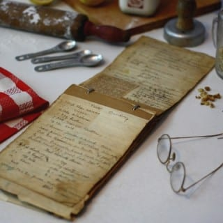 The Aunt Lou Recipe Archives from Post World War I America