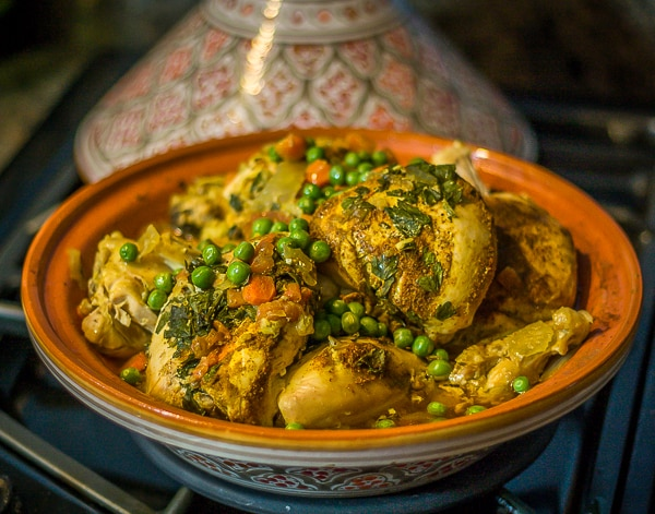 Moroccan chicken tagine recipe analidas ethnic spoon moroccan chicken tagine when done forumfinder
