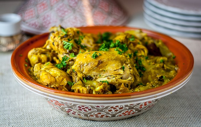 Moroccan saffron chicken analidas ethnic spoon find out how to make tender and delicious moroccan saffron chicken also learn about cooking forumfinder Images