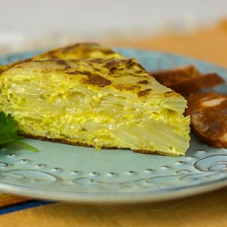 Authentic Tortilla Espanola – Spanish Potato Pie