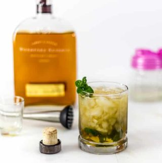 Authentic mint julep kentucky derby
