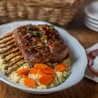Turkish Style Rack of Lamb