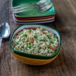 Arroz con pollo a traditional rice and chicken dish from Latin American |ethnicspoon.com