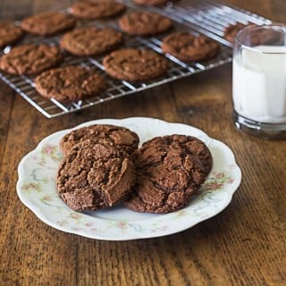 Aunt Lou's Chocolate drop cookies | ethnicspoon.com