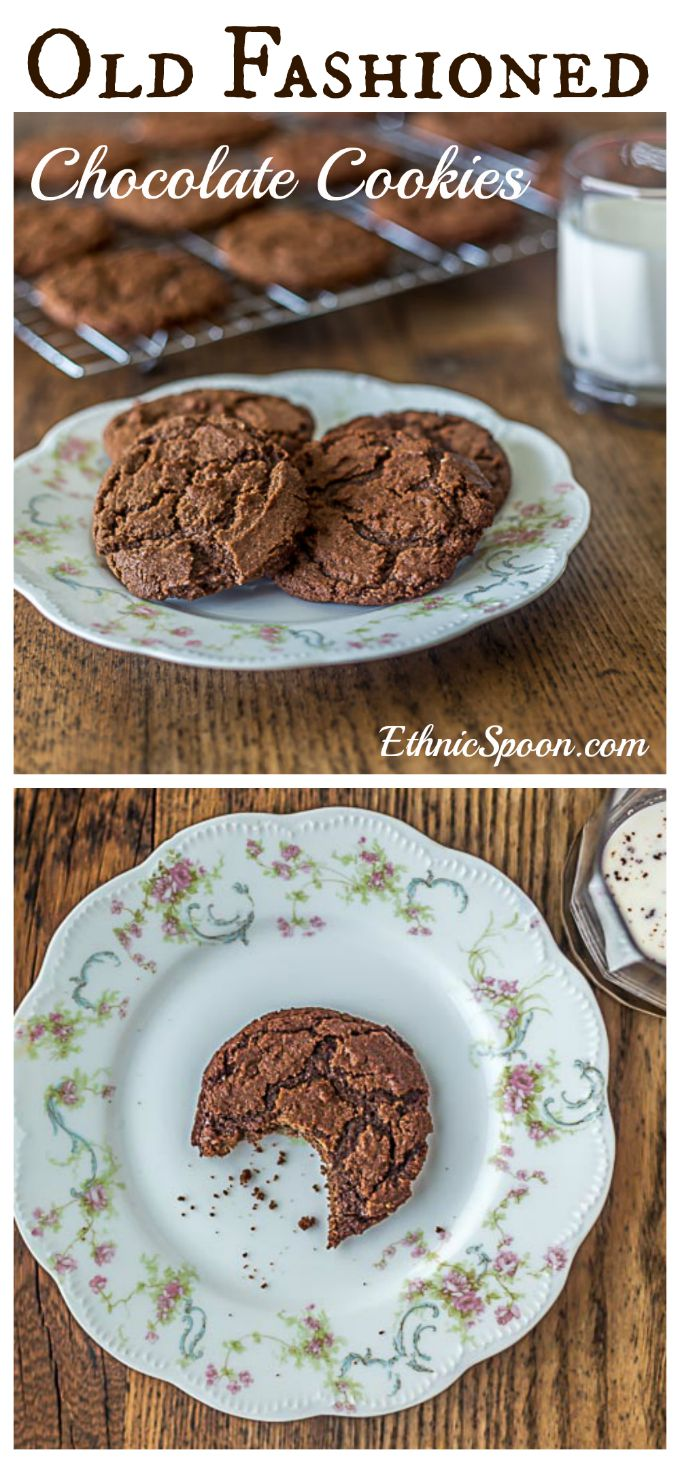 Aunt Lou's old fashion chocolate drop cookies are a 100+ year old family favorite recipe. A great cookie to dunk!