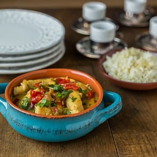 The Easiest Coconut Curry Chicken
