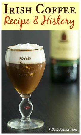 Irish coffee recipe and history from Foynes Ireland began with the flying boats in the early days of tran-Atlantic flight. | ethnicspoon.com