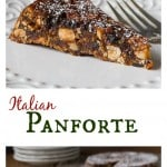 Panforte: A delicious 14th century Italian Chrismas dessest made with nuts, candied orange peel, dried fruits and aromatic spices. | Ethnicspoon.com