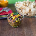 2 Minute Spicy Mango Pico de Gallo Salsa