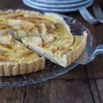 Tarte Normande: A French apple tart with custared. |ethnicspoon.com