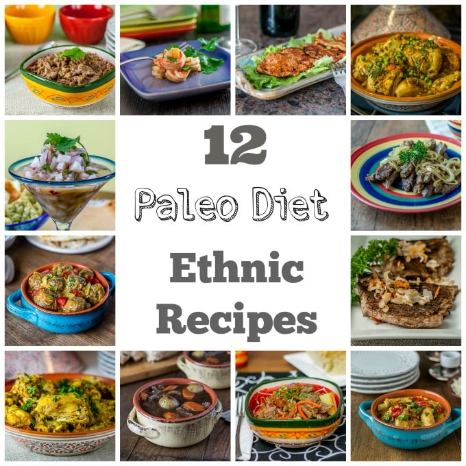12 Paleo Diet ethnic recipes | ethnicspoon.com