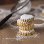 Middle Eastern pistachio rosewater shortbread cookies | ethnicspoon.com