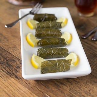 Dolmas- Stuffed Grape Leaves