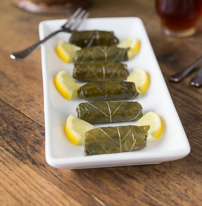 Dolmas filled with rice, onions, parsley and currants. | ethnicspoon.com
