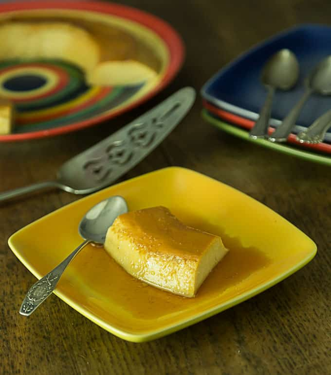No Bake easy stove-top flan recipe or Latin American custard. | ethnicspoon.com
