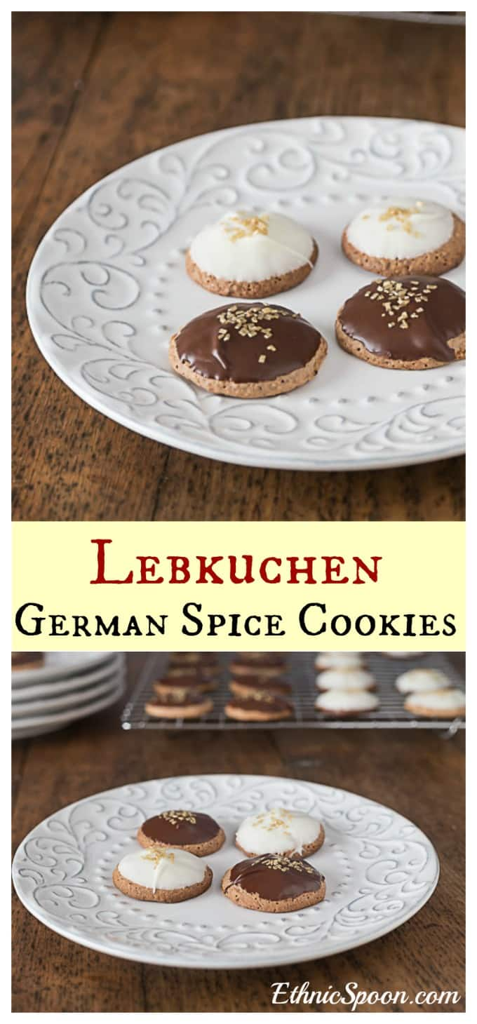 Lebkuchen: A German favorite Christmas spice cookie with an interesting history.| ethnicspoon.com