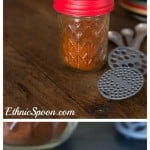 A very easy recipe to make your own chili powder blend and the food history behind the popular seasoning.   ethnicspoon.com