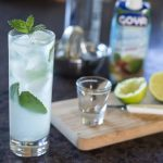 Coconut mojito with mint, lychee and rum | ethnicspoon.com