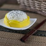 Thai Mango Sticky rice: A simple and delicious dessest with coconut milk and jasmine rice. | ethnicspoon.com