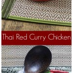 Amazing and incredibly easy Thai red curry chicken brings some heat and sweet flavors. One of my all time favorite dishes! | ethnicspoon.com