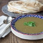 Healthy and full of flavor! Middle Eastern lentil soup is simple yet it has exotic flavors you won't forget! This is one of my all time favorite soups! | ethnicspoon.com