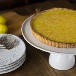 The best lemon tart I have ever eaten! A great combination of sweet, tart and creamy filling with a nice crunchy short crust. | ethnicspoon.com