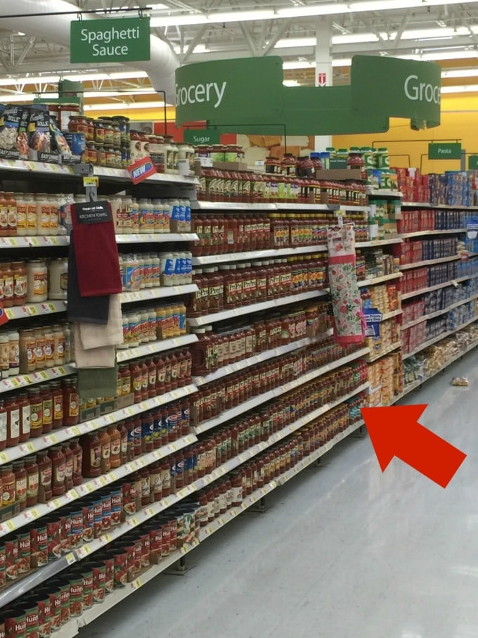 where to find marinara sauce in the grocery store