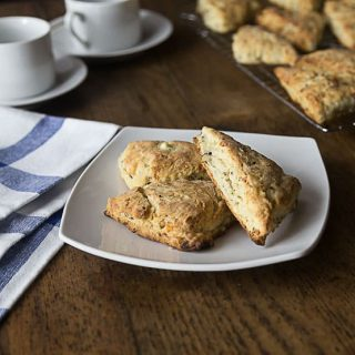 Savory Feta Walnut Scones