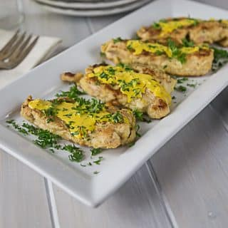 Chicken in Creamy Saffron Sauce