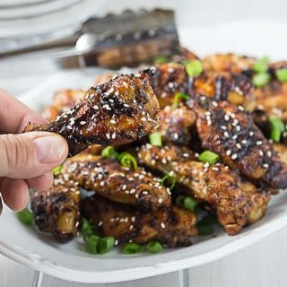 Try some spicy and saucy Thai style chicken wings. your eye! Hot, sweet, salty & tangy! | ethnicspoon.com