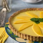 Tropical Mango, Passion Fruit, Lime Tart