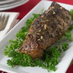 You will love this pork tender loin in tamarind sauce with garlic and herbs. Melt in your mouth tender with sweet and delicate flavors. | ethnicspoon.com