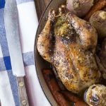 AD Cornish Hens Stuffed with Couscous, Dates and Parsley