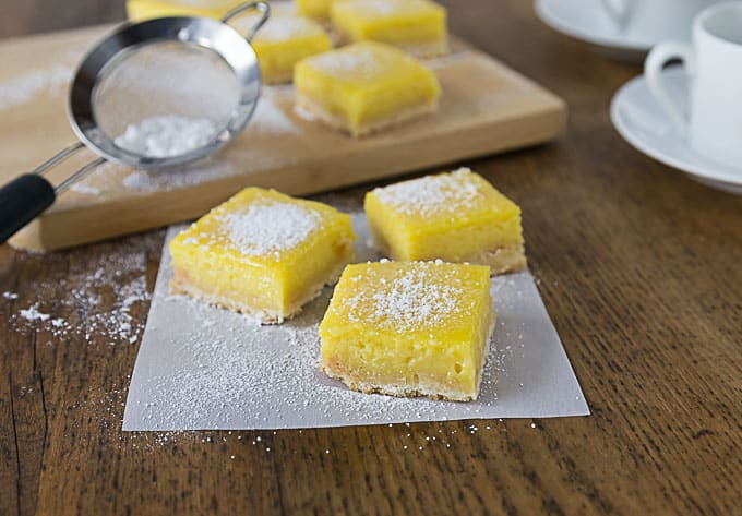 Love mangos? You'll love these creamy mango lime bars with sweet and tart flavors and a crunchy shortbread crust. | ethnicspoon.com