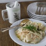 Salmon Ravioli with Lemon Dill Sauce