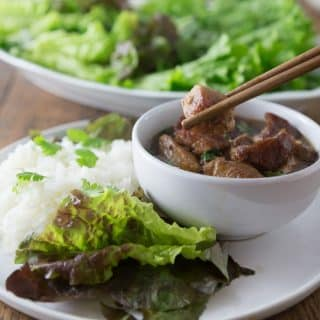 Vietnamese Coconut Braised Pork