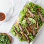 Thai Beef Salad with Peanut Lime Dressing