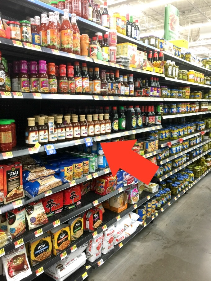 Here is where you buy the new P.F. Chang's® Home Menu Sauces in Walmart. I love the Kung Pao!