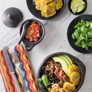 Pork Carnitas Burrito Bowl Recipe