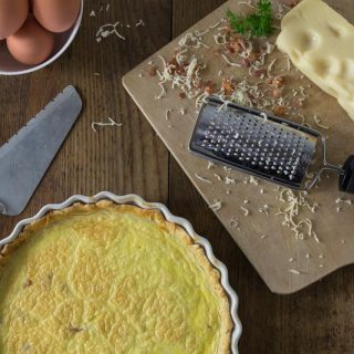 Authentic Quiche Lorraine