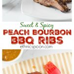 Msg 4 21+ During grilling season I love to experiment with homemade BBQ sauces and I think you will love this one. My sweet and spicy peach bourbon sauce has a nice combination of flavors. Brush some on your rack of ribs while grilling and dip them when they are done! @smithfieldbrand @walmart #BBQ #grilling #ribs #GetGrillingAmerica #ad