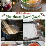 Steps to make old fashioned flavored Christmas hard candy.
